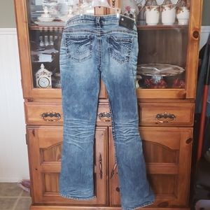 Silver jeans Suki Capri 28x33